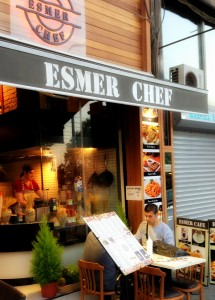 flambe2 215x300 Sirkecide bir İtalyan; Esmer Chef!
