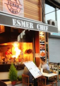 flambe4 210x300 Sirkecide bir İtalyan; Esmer Chef!