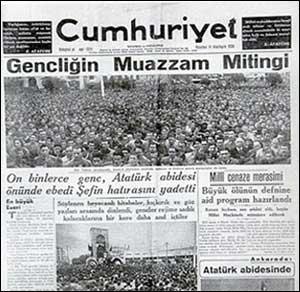 cumhu3 Atatürkü anıyoruz! Fikirler ölmez!