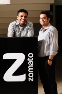 Deepinder and Pankaj zomato    Merhaba Zomato diyoruz!