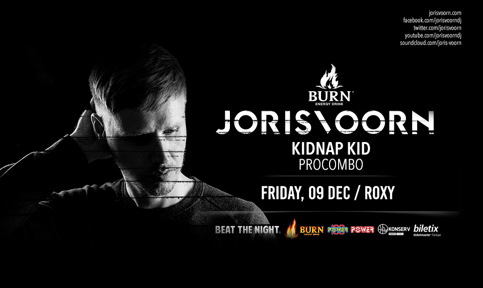 Burn Energy Drink Joris Voorn Beat The Night Events