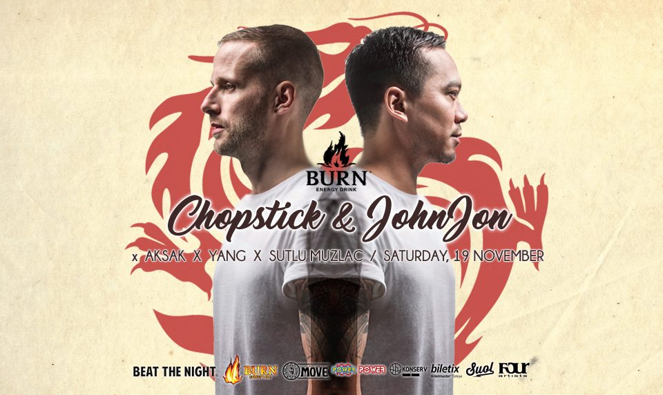 Burn Energy Drink presents Chopsti Beat The Night Events