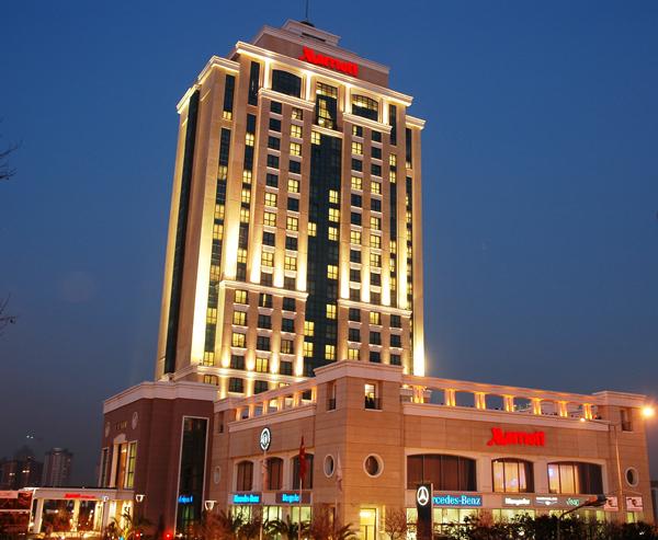 istanbul marriott hotel asia Ataşehirde Nerede Kalınır?