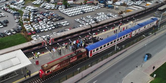 marmaray metrobus Gebze Halkalı Marmaray Hizmete Açıldı